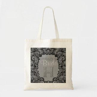 H - The Falck Alphabet (Silvery) (Wedding) Tote Bag