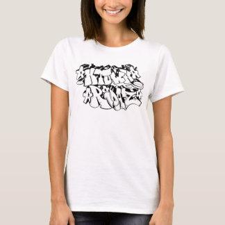 H TOWN RIDAZ CLOTHING - HTR Graffitti Black T-Shirt
