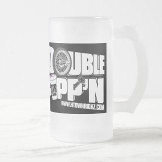 H TOWN RIDAZ - Double Cupp'n Black - Beer Mug