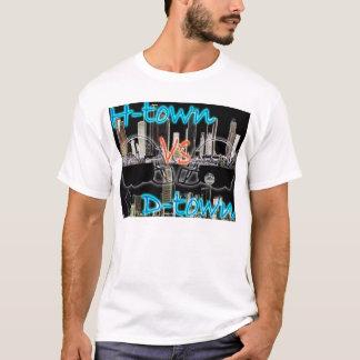 H-town vs D-town T-Shirt