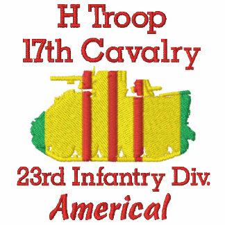 H Trp. 17th Cav 23rd Inf Div M113 Track Polo Shirt