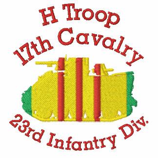 H Trp. 17th Cav 23rd Inf Div M113 Track Shirt