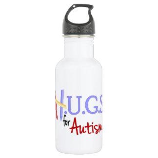 H.U.G.S. for Autism Aluminum Water Bottle