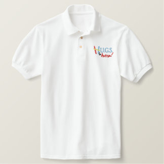 H.U.G.S. for Autism Custom Embroidered Polo
