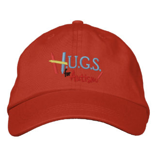 H.U.G.S. for Autism Embroidered Adjustable Hat Embroidered Hats
