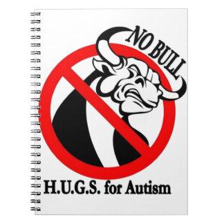 H.U.G.S. para el autismo Libros De Apuntes