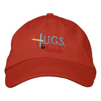 H U G S para el autismo gorra ajustable bordado Gorras Bordadas
