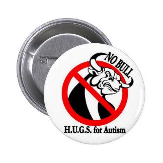 H.U.G.S. para el autismo Pin Redondo 5 Cm