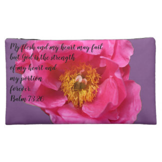 H&X Peony A~Heart Cosmetic Bag