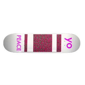 h, yo, PEACE Skateboard Deck
