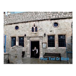 Ha-Ari Ashkenazi Shul - Safed Postcard