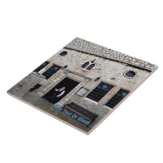 Ha-Ari Ashkenazi Shul - Tzfat Ceramic Tile