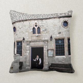 Ha-Ari Ashkenazi Shul - Tzfat Throw Pillow