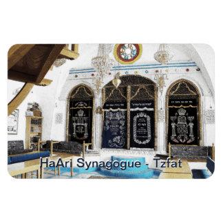 Ha-Ari Sephardi Shul - Tzfat Rectangular Photo Magnet