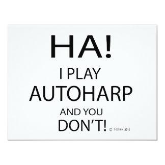 Ha Autoharp Card
