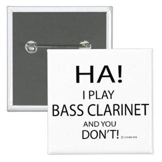 Ha Bass Clarinet Pin