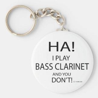 Ha Bass Clarinet Keychains