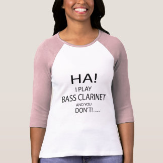 Ha Bass Clarinet T-Shirt