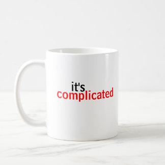 Ha complicado taza clásica