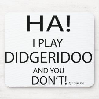 Ha Didgeridoo Mousepad