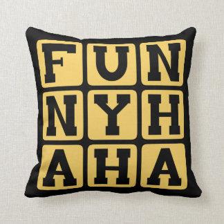 Ha divertida ha oro de la comedia almohada