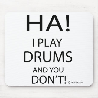 Ha Drums Mouse Pad
