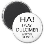 Ha Dulcimer 2 Inch Round Magnet
