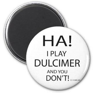 Ha Dulcimer Magnet