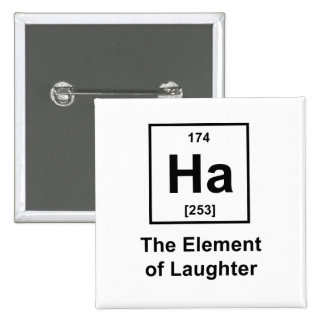 Ha, el elemento de la risa pins