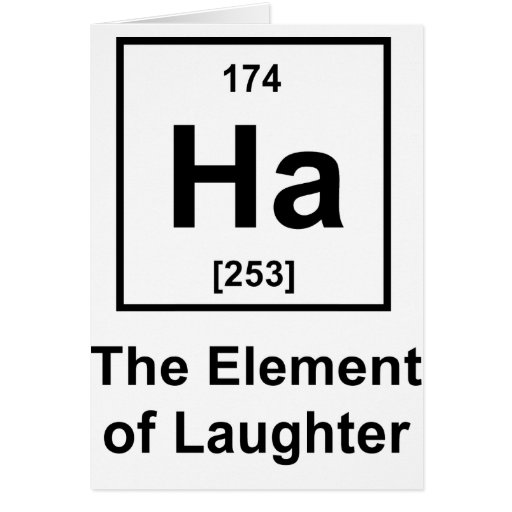 Ha-Element-of-Laughter Card
