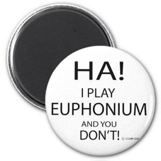 Ha Euphonium 2 Inch Round Magnet