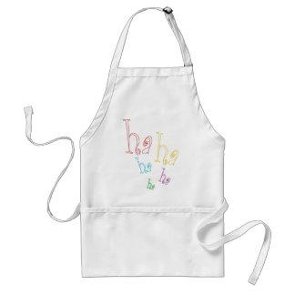 Ha ha ha! adult apron