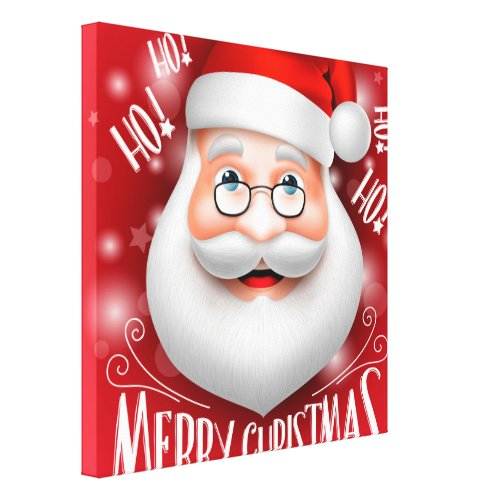 Ha Ha Merry Christmas Canvas Print