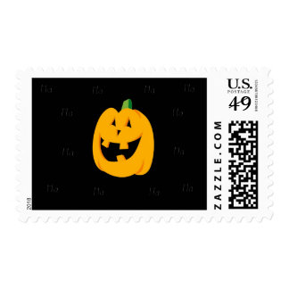 Ha Ha Pumpkin Halloween Stamp