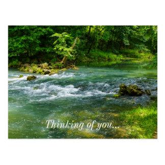 Ha Ha Tonka Rapids Postcard