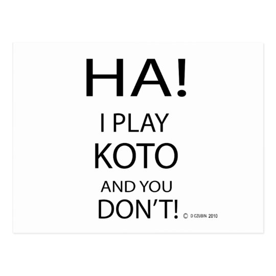 Ha Koto Postcard