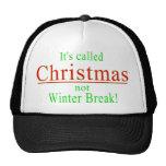 Ha llamado el invierno Break.png de Christmas no Gorro De Camionero
