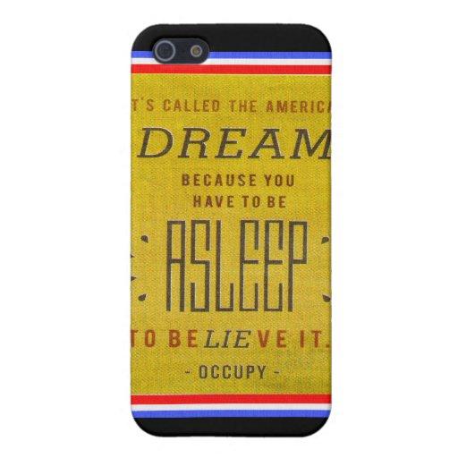Ha llamado sueño americano ocupa Wall Street iPhone 5 Cobertura