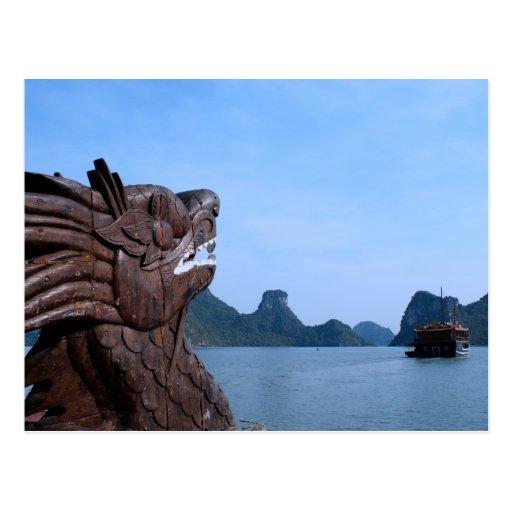 Ha Long Bay Postcard
