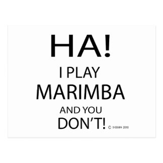 Ha Marimba Postcard