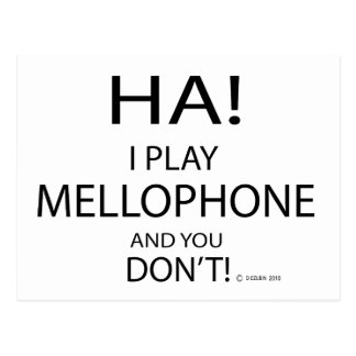 Ha Mellophone Postcard