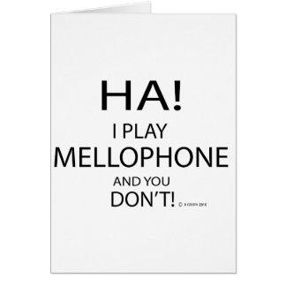 Ha Mellophone Tarjetón