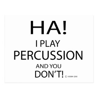 Ha Percussion Post Cards
