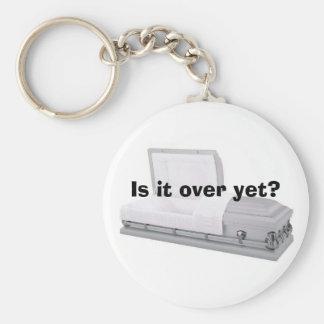 ¿Ha terminado todavía? Llavero Redondo Tipo Pin