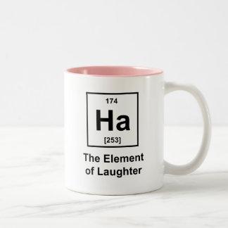 Ha, The Element of Laughter Mug