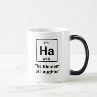 Ha, The Element of Laughter Coffee Mugs