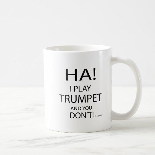 Ha Trumpet Coffee Mug