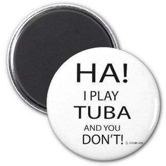 Ha Tuba Magnet
