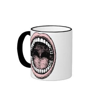 ¡Haaa Abra la taza de café ancha de la boca 1
