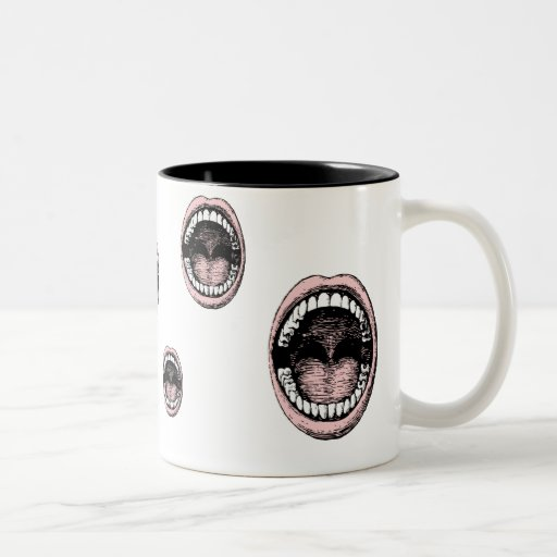 Haaa!!! Open Wide Mouth Coffee Mug 2